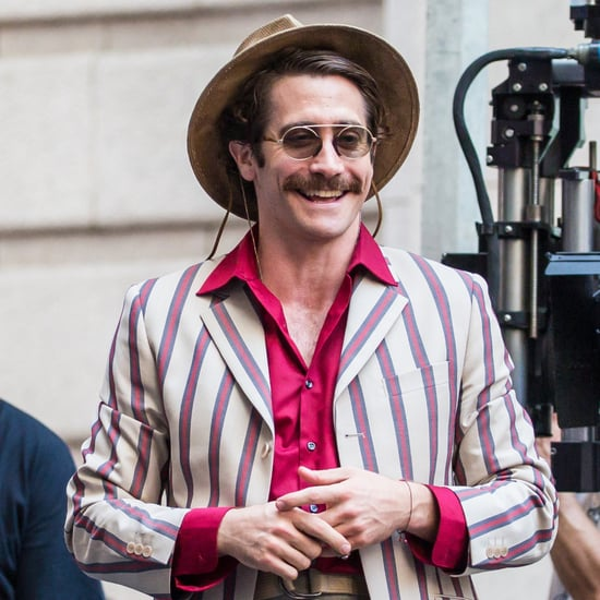 Jake Gyllenhaal on the Set of Okja Pictures