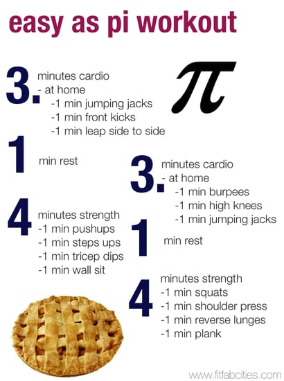 Fit Fab Cities Pi Day Workout