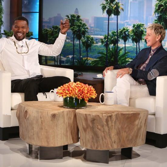 Jamie Foxx's Mike Tyson Impression on Ellen DeGeneres Show
