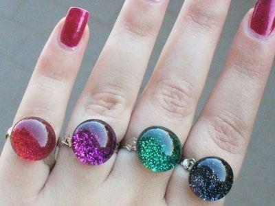 Nail Polish Rings — Circle ($13)