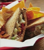 Cat Cora's Tuna Melt With Apple and Avocado