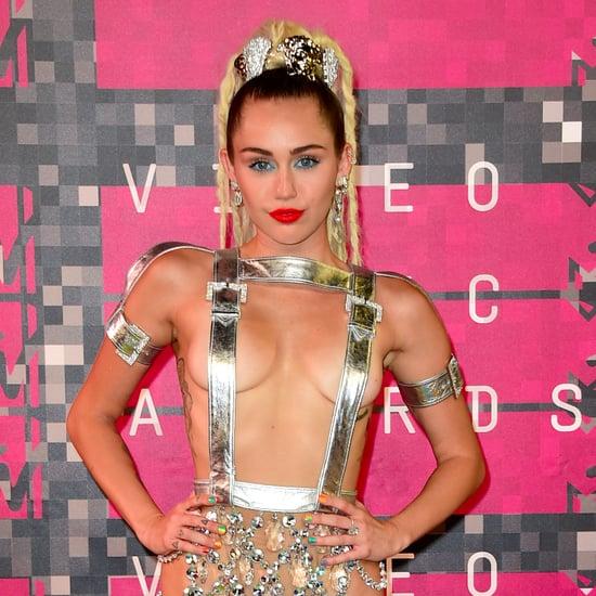Miley Cyrus Hair MTV VMAs 2015