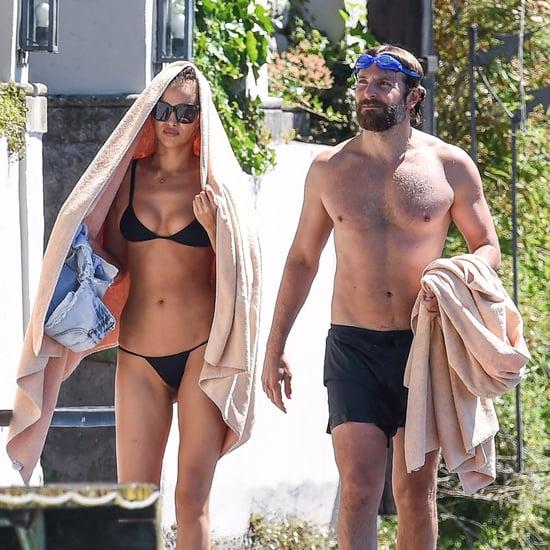 Bradley Cooper and Irina Shayk in Italy July 2016