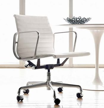 desire acquire eames aluminum management chair popsugar. Black Bedroom Furniture Sets. Home Design Ideas