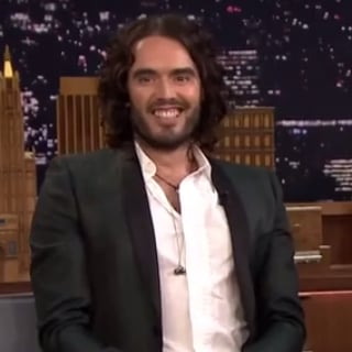 Russell Brand on The Tonight Show Starring Jimmy Fallon