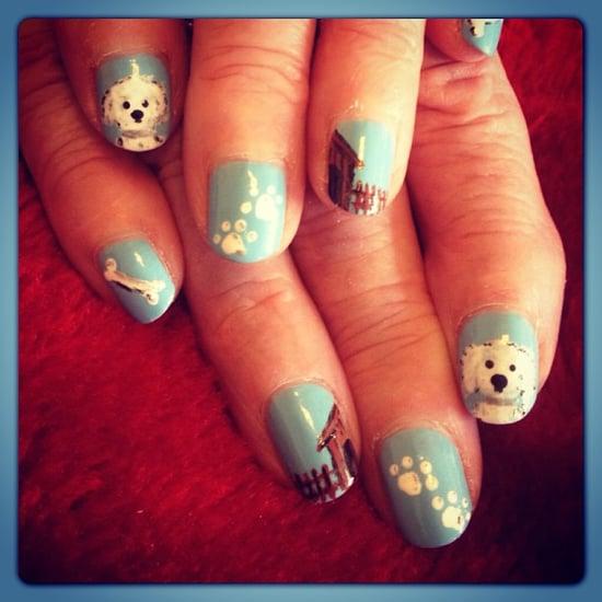 dog nail art designs popsugar beauty