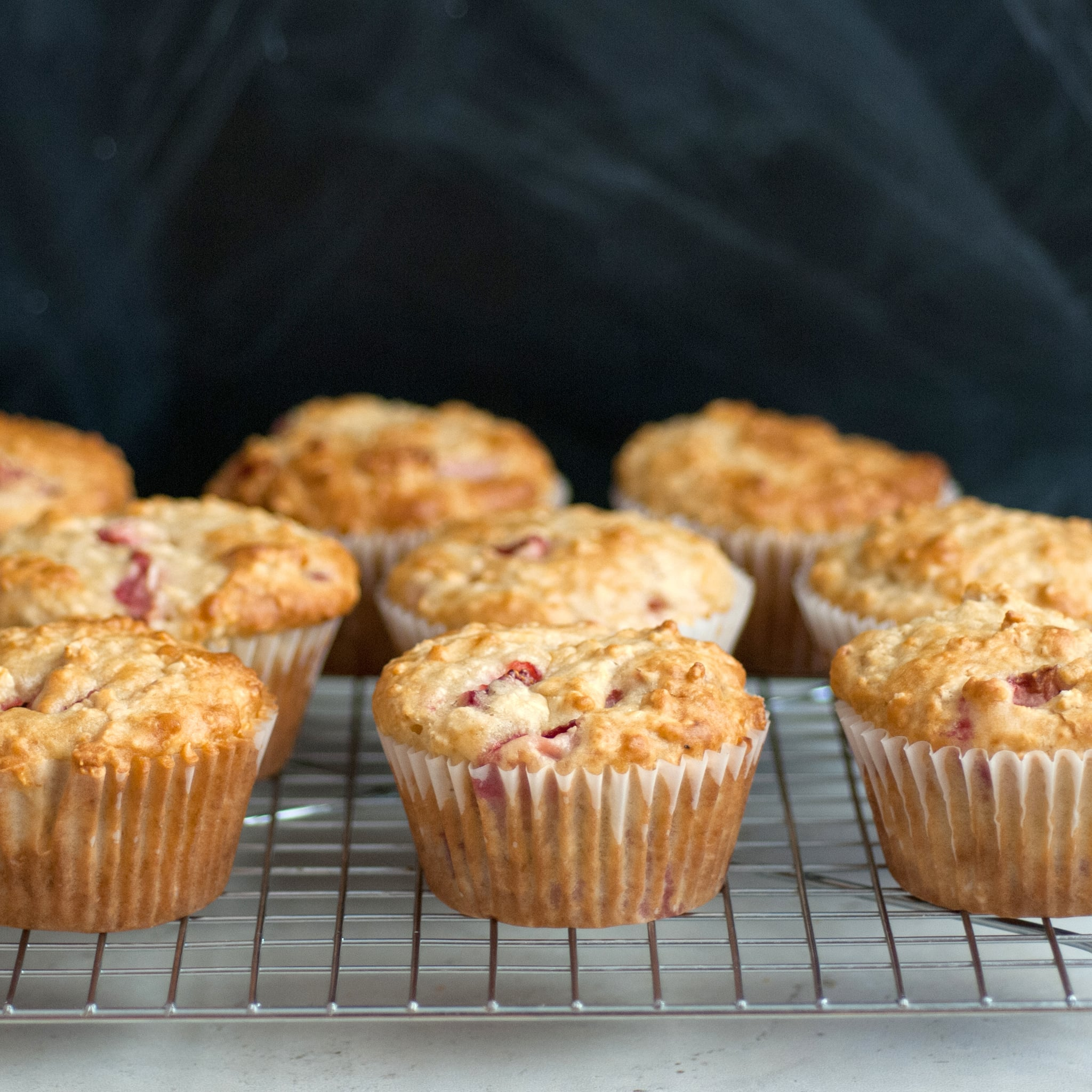 Strawberry Oatmeal Muffins the Whole Family Will Love