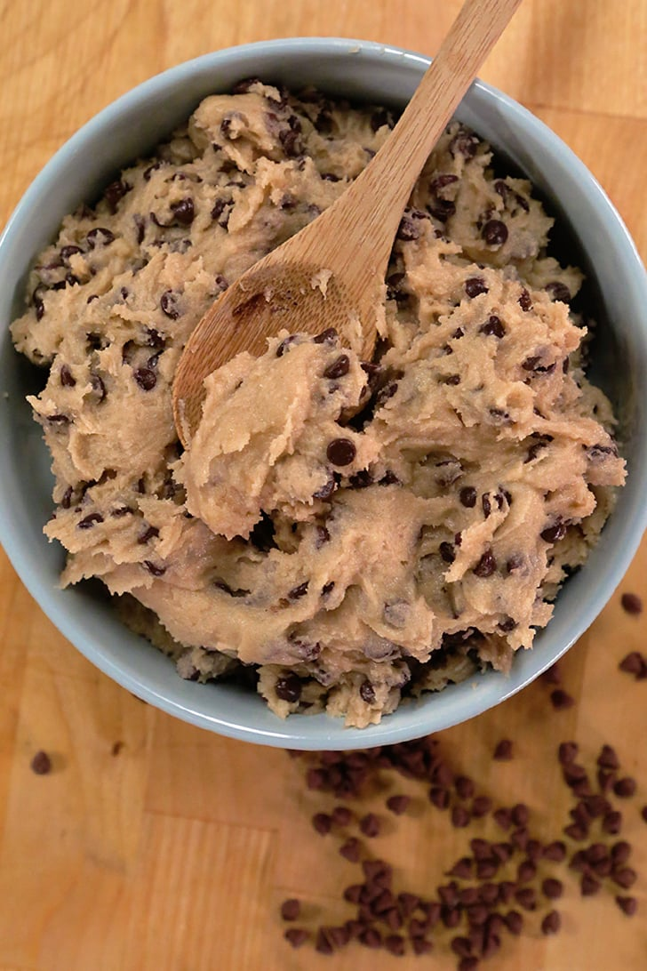 edible chocolate chip cookie dough recipe popsugar food. Black Bedroom Furniture Sets. Home Design Ideas