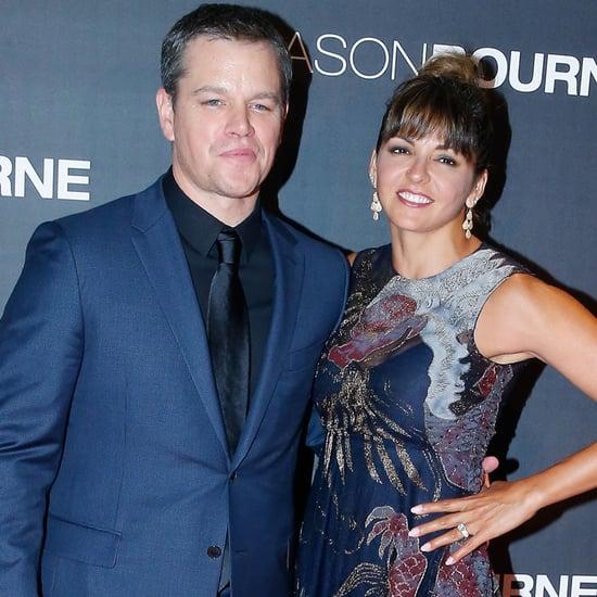 Matt Damon at the Paris Premiere of Jason Bourne July 2016