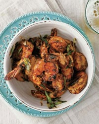 Shrimp with Barbecue Spices