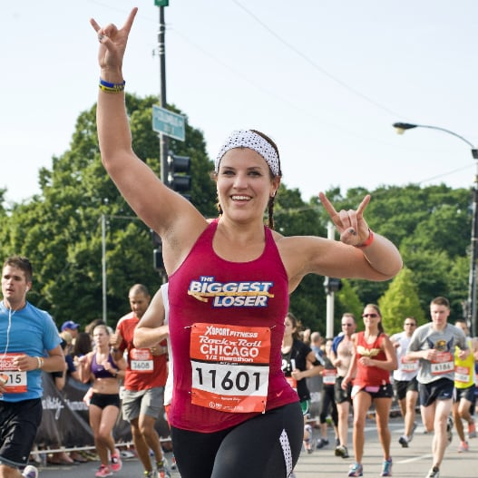 The Biggest Loser Danni Allen Marathon Tips | POPSUGAR Fitness