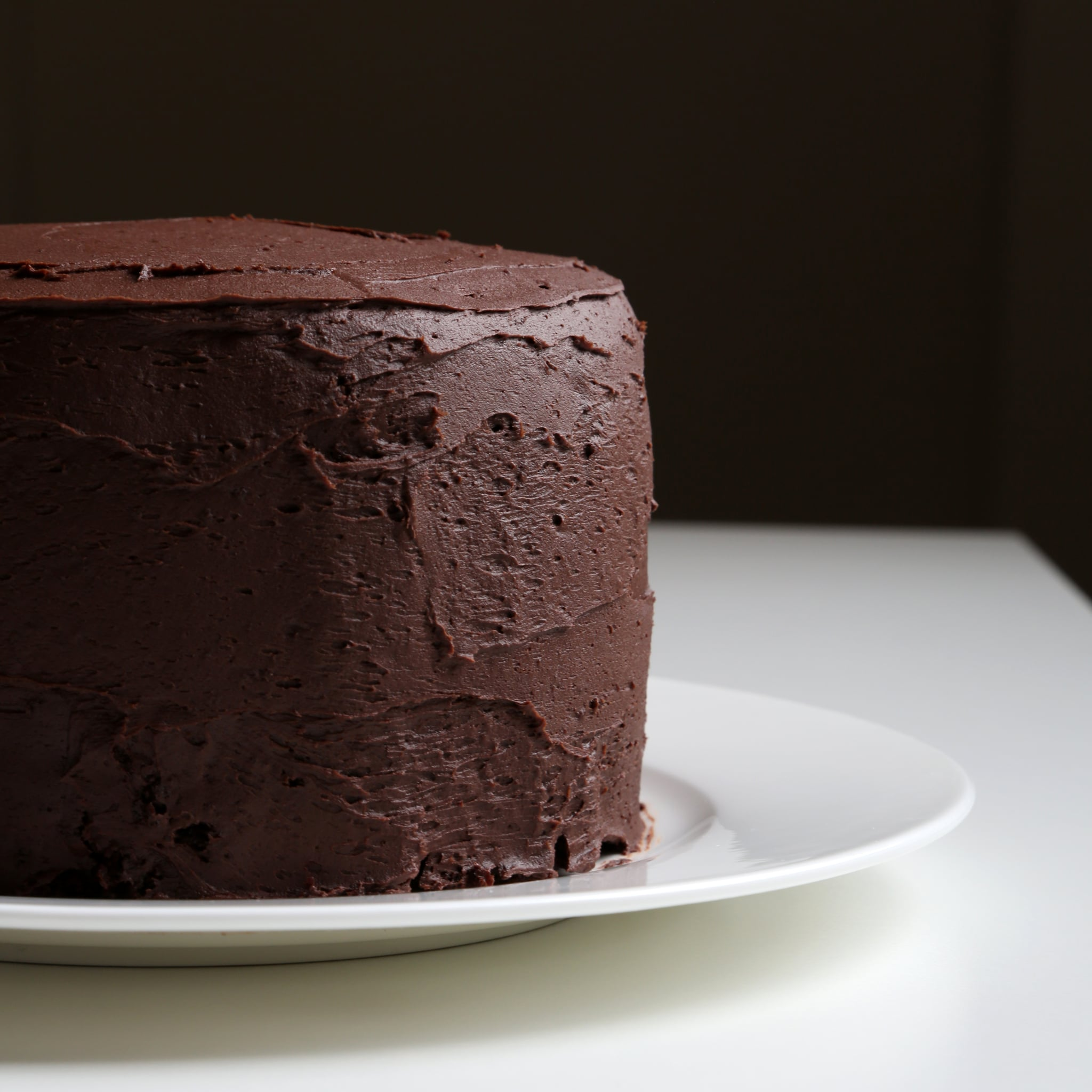 Chocolate cake with chocolate buttercream recipe popsugar food - Herve cuisine cake chocolat ...