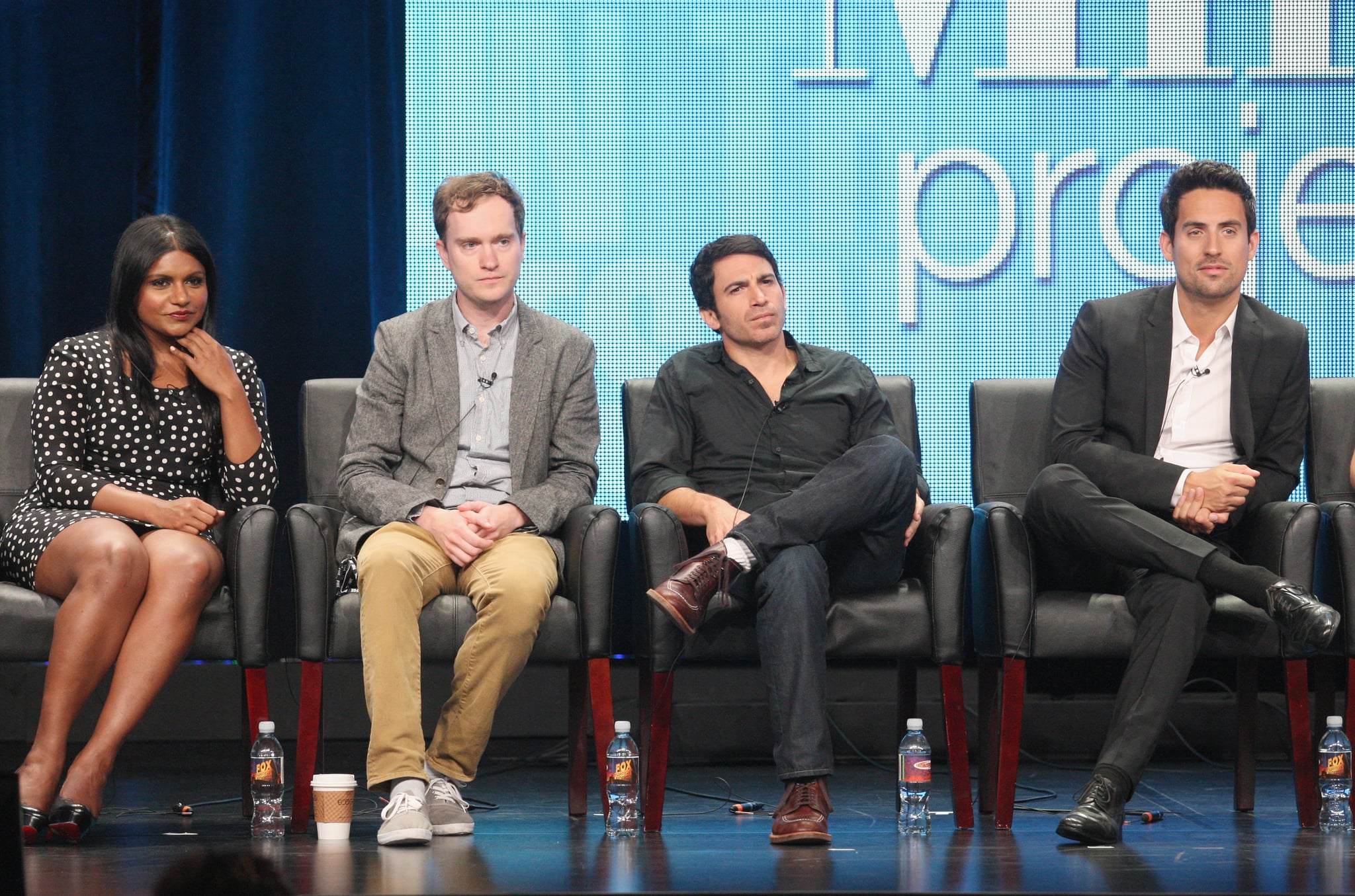 Chris Messina and Ed Weeks play Kaling&#039;s fellow doctors on The Mindy Project.</p> <p>