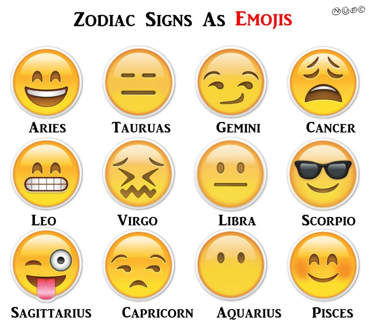 which emoji matches my zodiac sign popsugar tech
