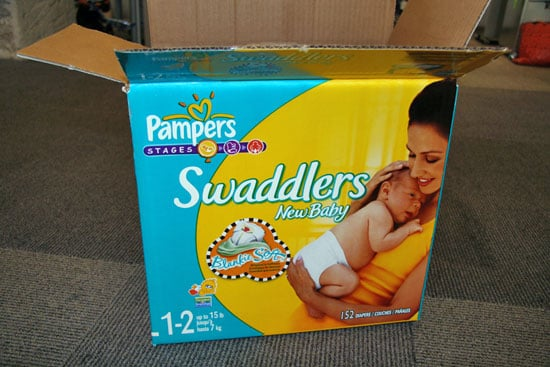 Perfect Diapers for Diaper Cakes