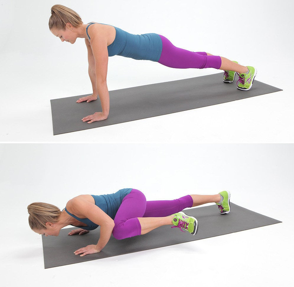Spider-Man Push-Up | POPSUGAR Fitness