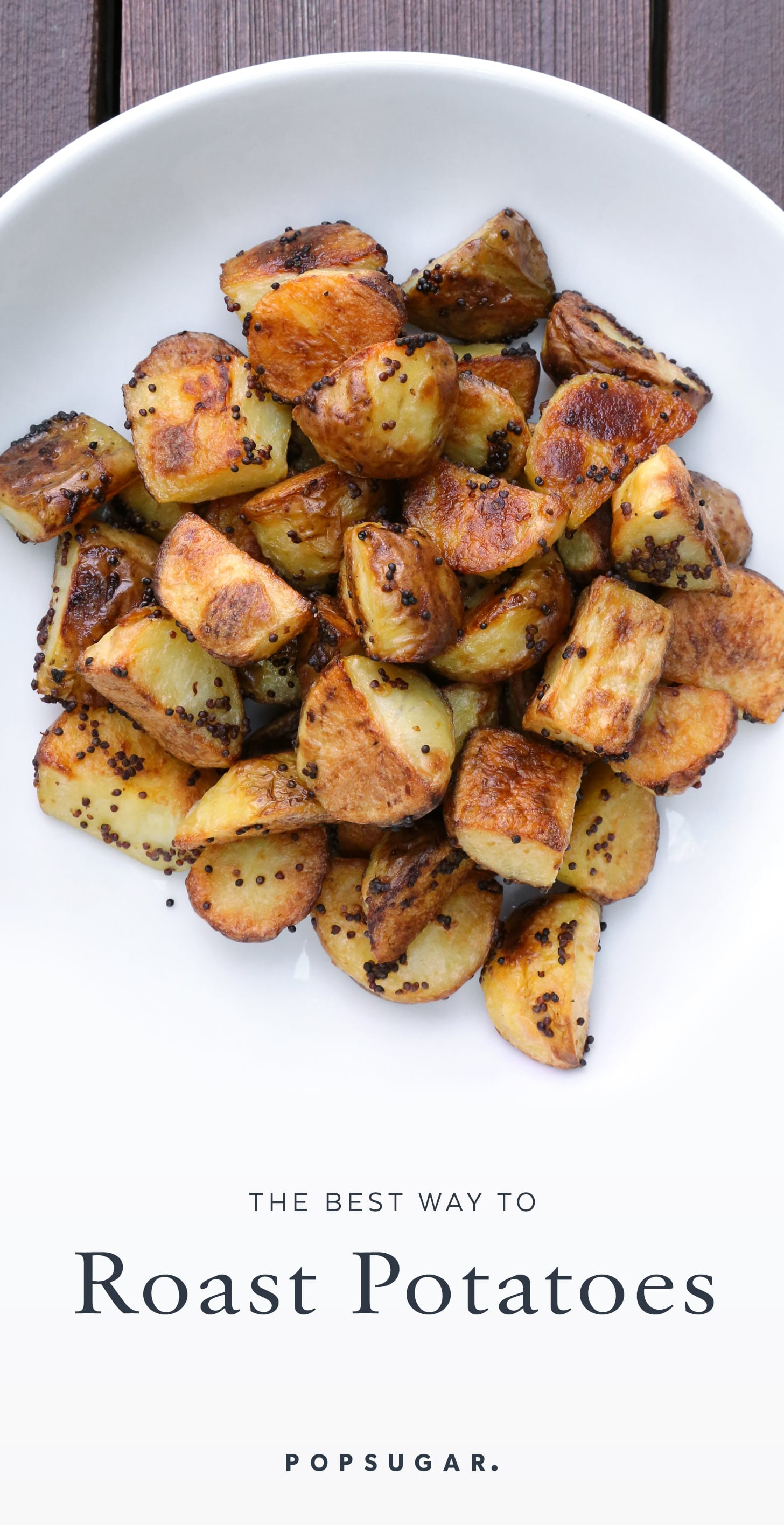 Mustard Roasted Potatoes Recipe | POPSUGAR Food