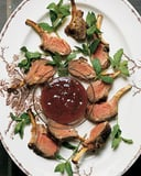 Dijon Lamb Chop Recipe With Red Currant Mint Dipping Sauce