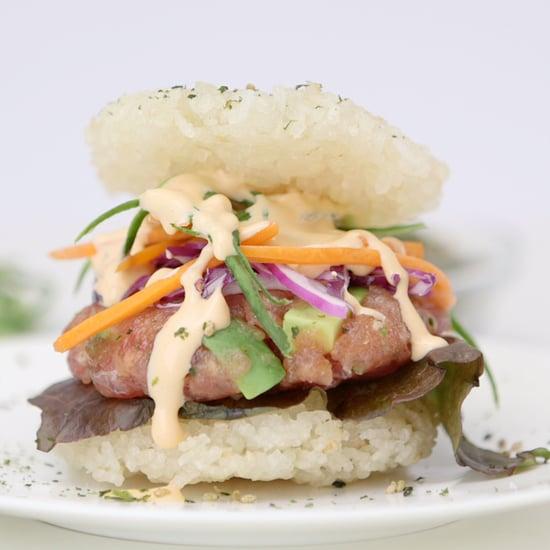 Sushi Burger   Food Video