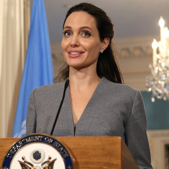 Angelina Jolie at US State Department on World Refugee Day