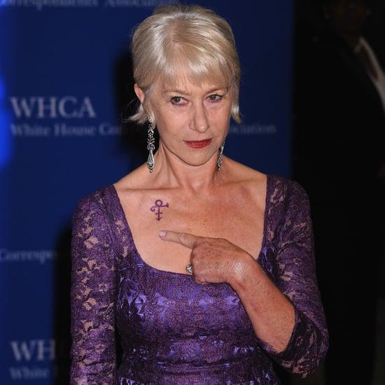 Helen Mirren's Prince Tribute at White House Dinner 2016