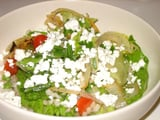 Barley and Greens Salad With Citrus Parmesan Vinaigrette