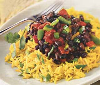 Fast, Easy, Vegetarian Recipe For Rice Salad With Peppers ...