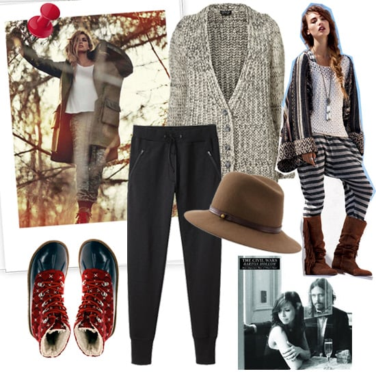 Winter Fashion Mood Board Popsugar Fashion