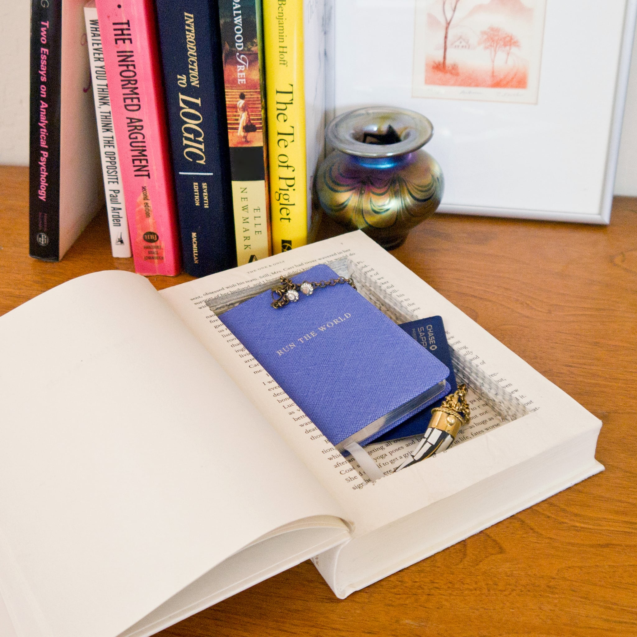 Diy Stash Book Popsugar Smart Living
