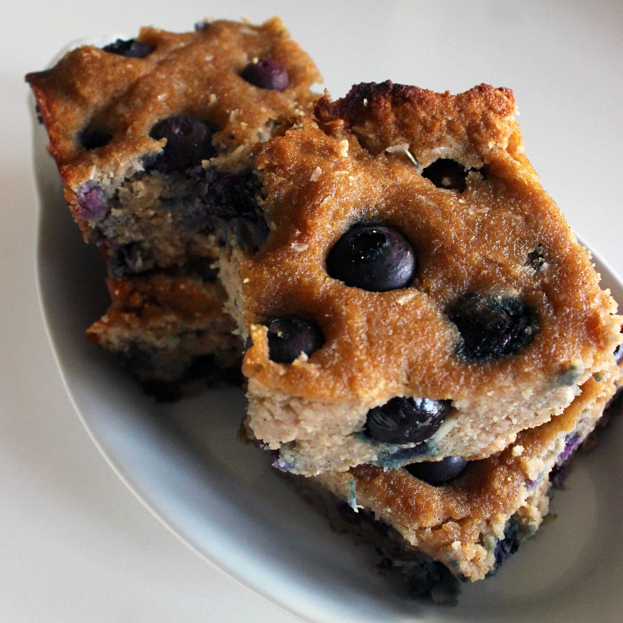 Your Healthy Sweet Treat: Paleo Coconut-Blueberry Cookie Bars