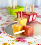 Apple and Mixed Berry Ice Pops
