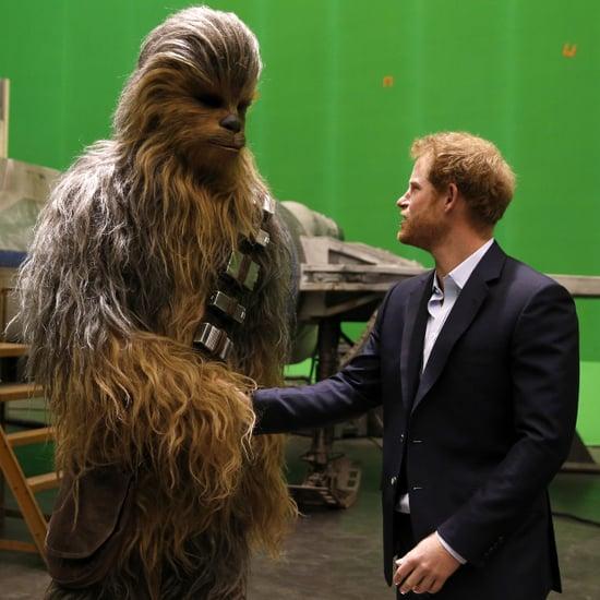 Prince Harry and Prince William Star Wars Set Visit Prank