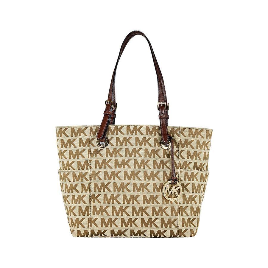 Michael Kors Jet Set Signature Tote Handbag – 45% off: $97.99