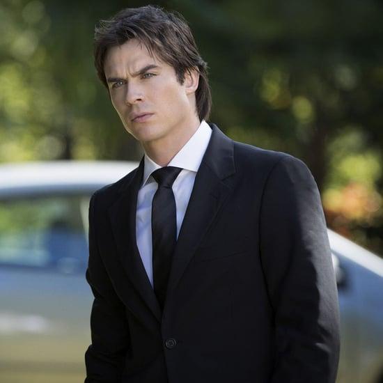 Paul Wesley on Ian Somerhalder's The Vampire Diaries Stare