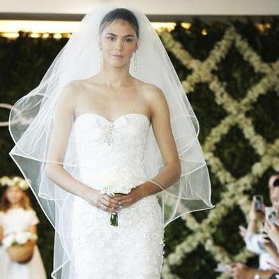 Die schönsten Brautkleider von der Bridal Fashion Week