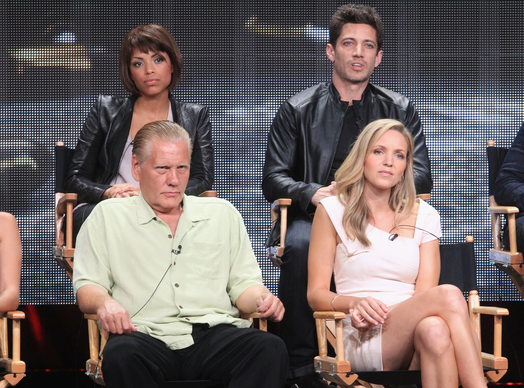 The Mob Doctor's Jaime Lee Kirchner, James Carpinello, William Forsythe, and Jordana Spiro spoke at the show's TCA panel.