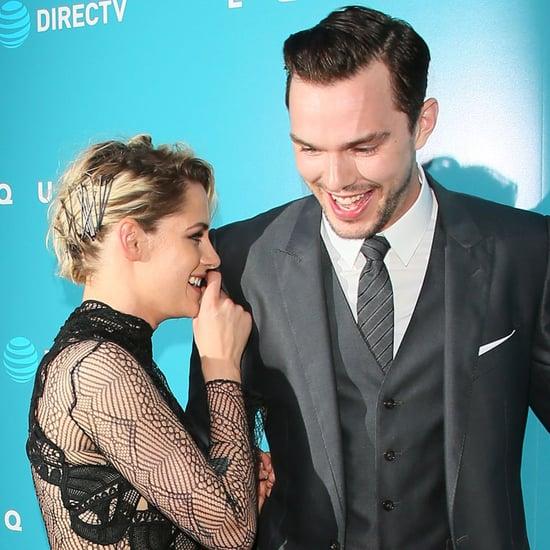 Kristen Stewart and Nicholas Hoult at LA Equals Premiere