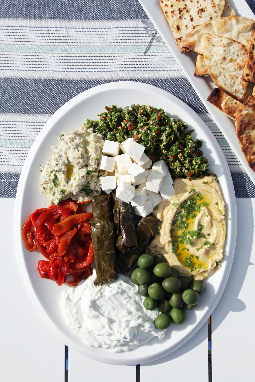 mezze platter ideas popsugar food