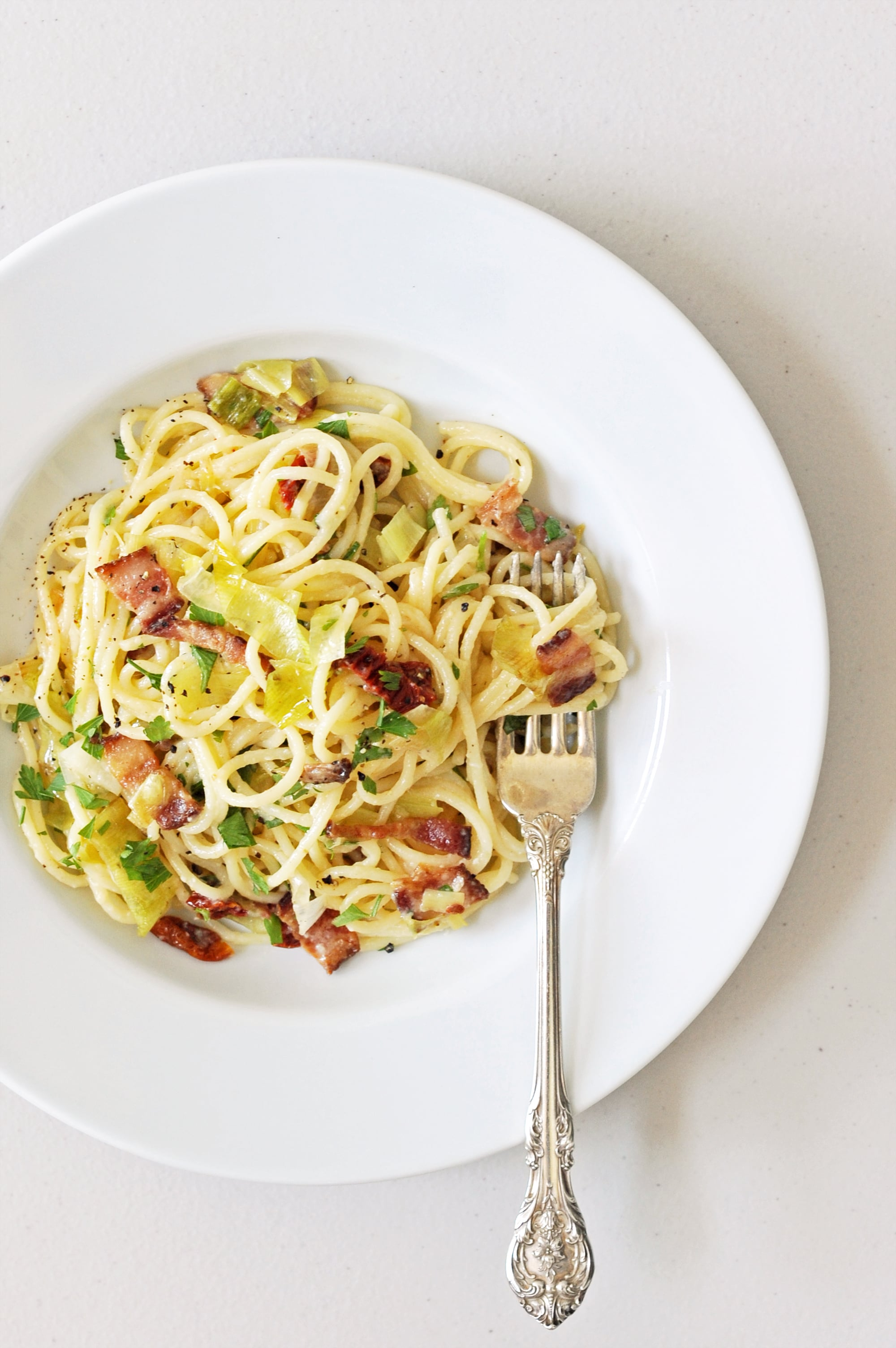 how to prepare carbonara pasta