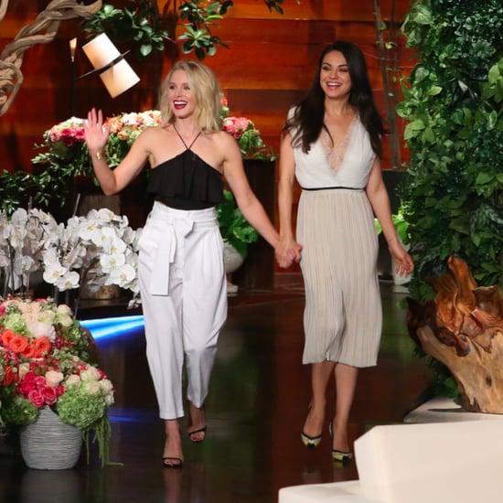 Mila Kunis's Skirt on The Ellen DeGeneres Show May 2016