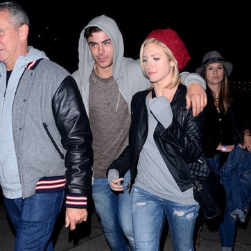 Zac Efron With Brittany Snow in 2013