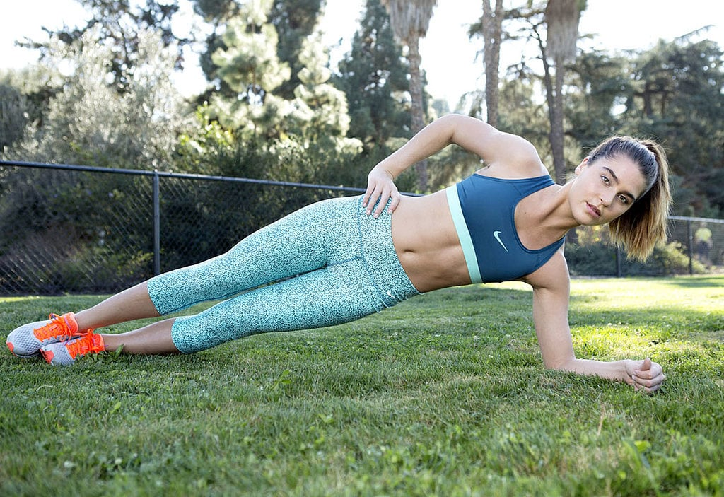 Flat-Belly Challenge Day 2   POPSUGAR Fitness