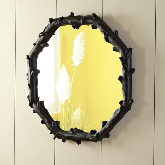 Steal Of The Day West Elm Faux Bois Mirror Popsugar Home
