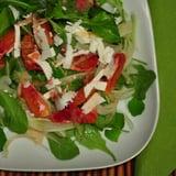 Arugula Salad With Blood Oranges, Fennel and Ricotta Salata