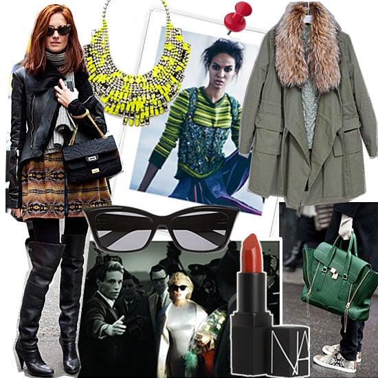 Fashion Week Mood Board Popsugar Fashion