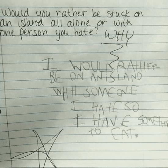The Funniest Homework Fails