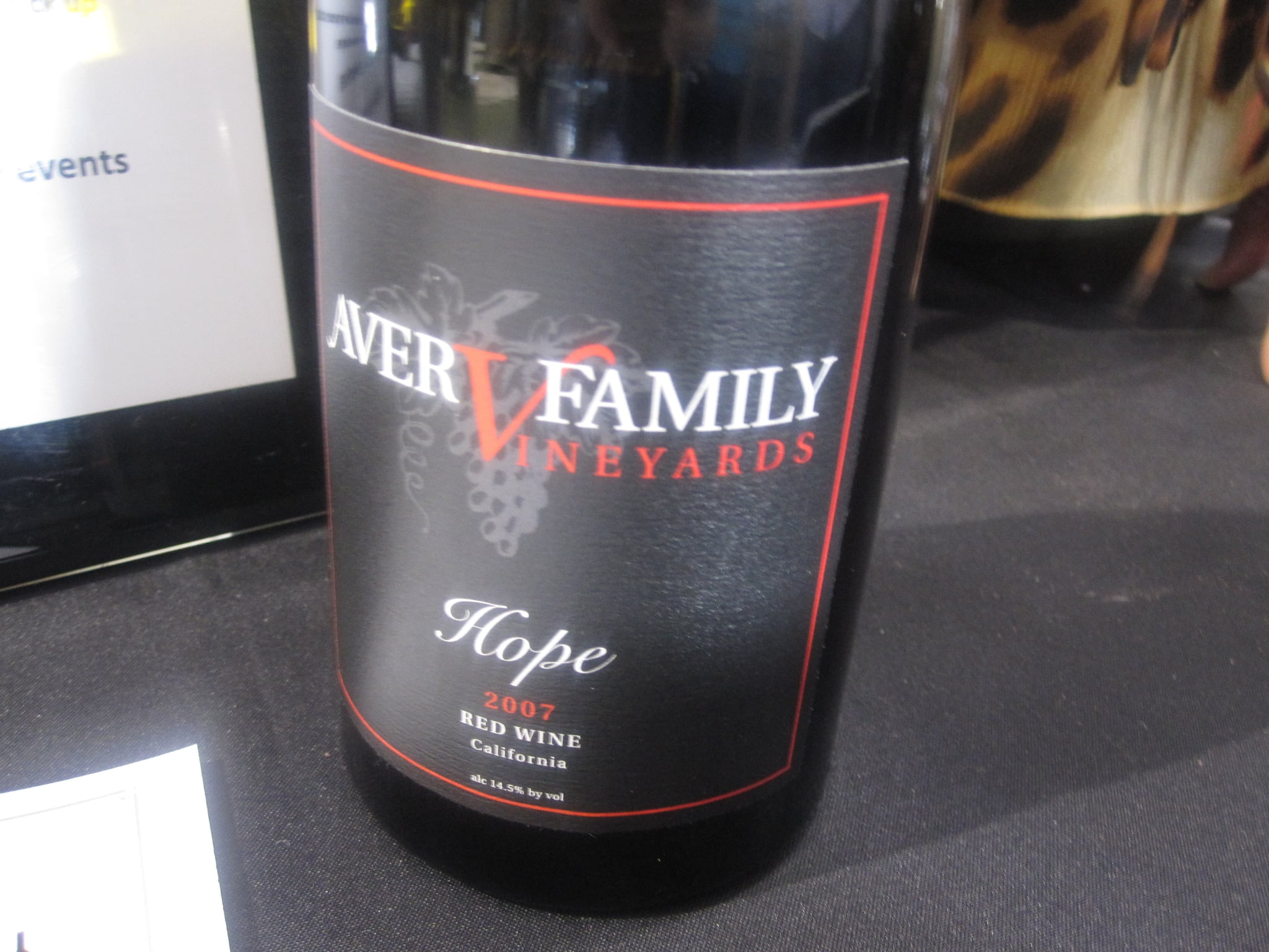 It was a cold rainy Saturday so I had my fair share of bold reds, including this one called Hope.