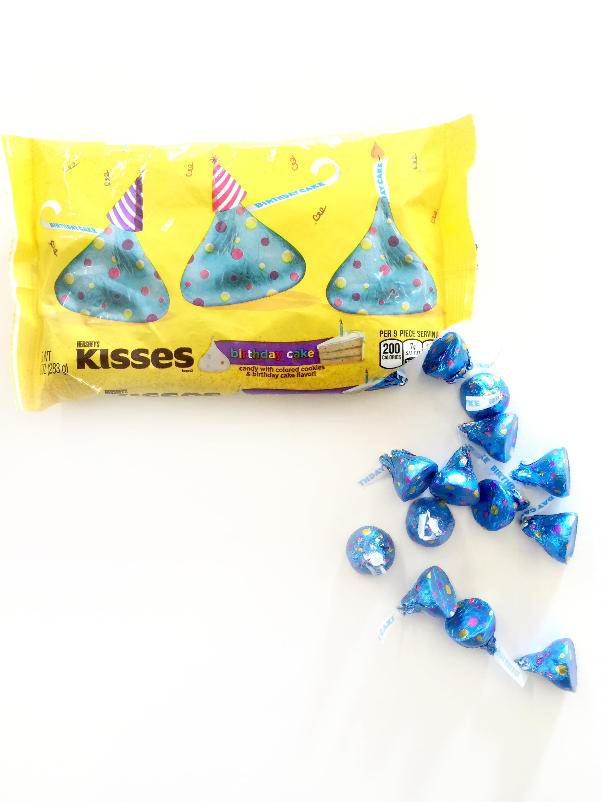Hershey Kisses Birthday Cake Flavor