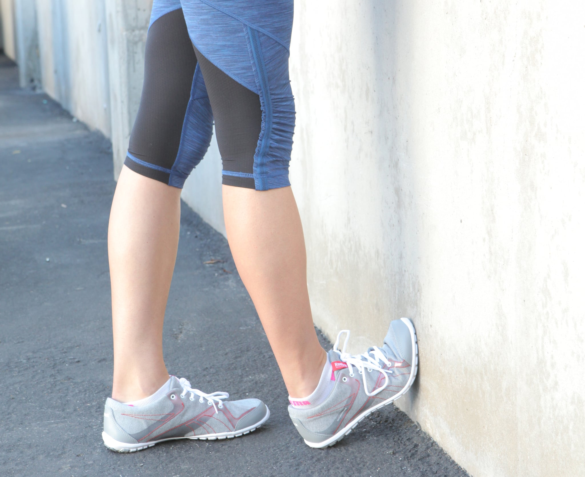Simple Calf Stretch You Can Do Anywhere Popsugar Fitness