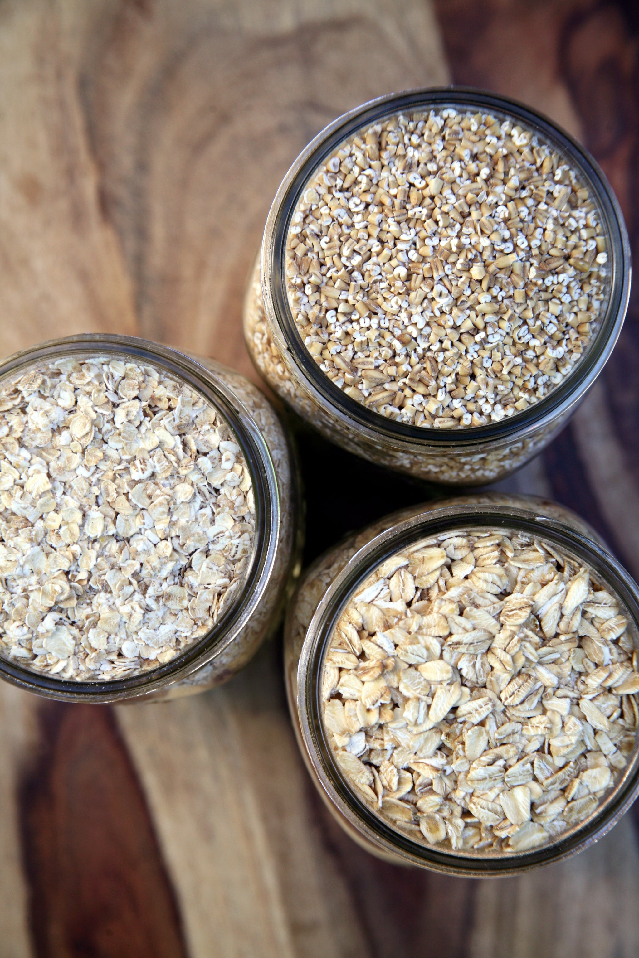 A Comparison Of Steel Cut Oats Old Fashioned Oats And